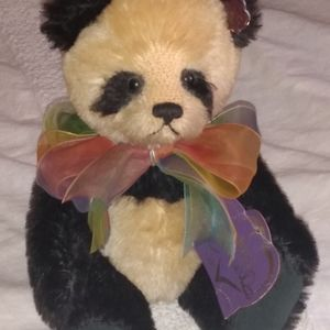 Annette Funicello mohair fur jointed bear